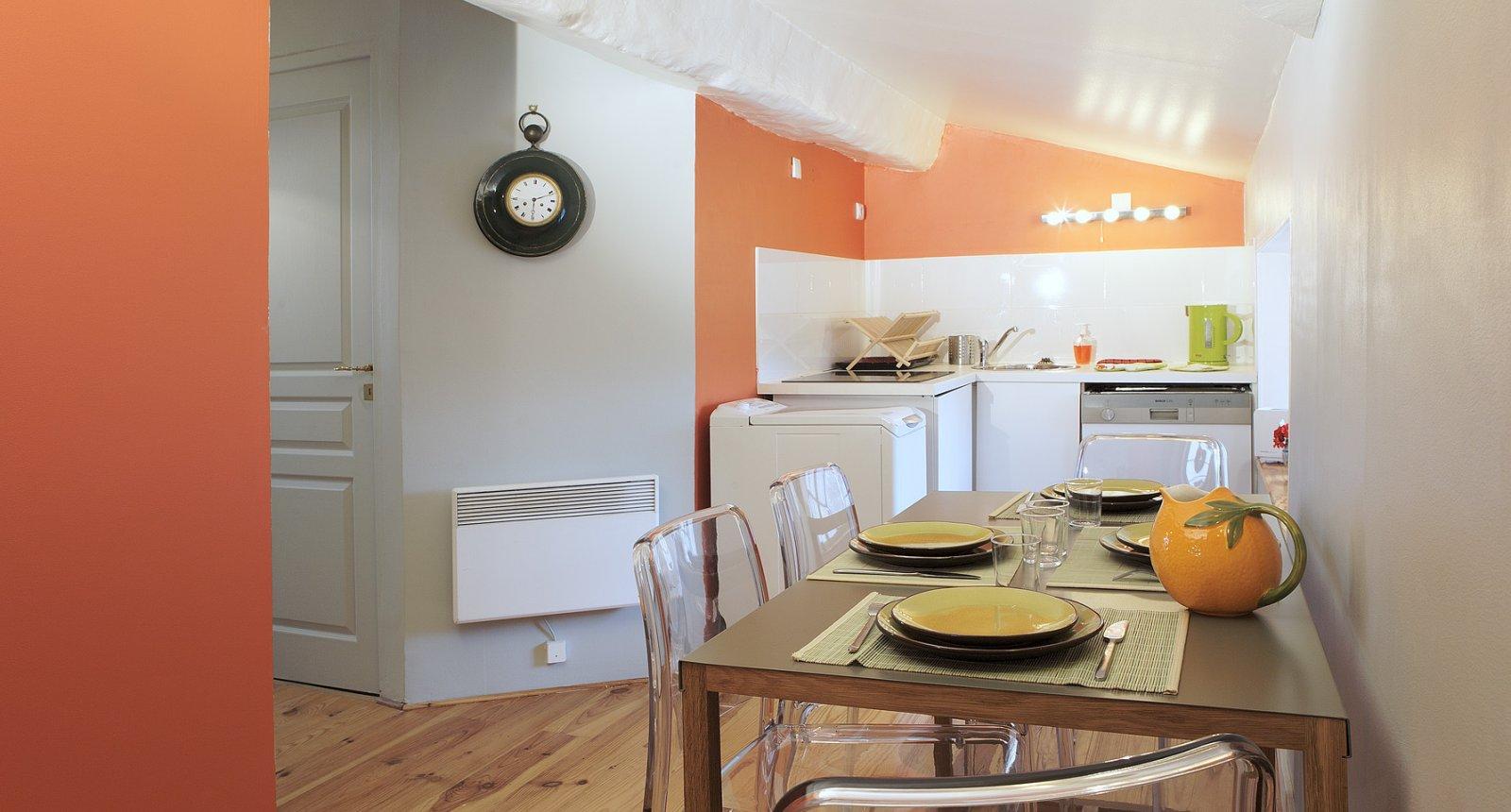 cuisine de l'appartement meublé de tourisme