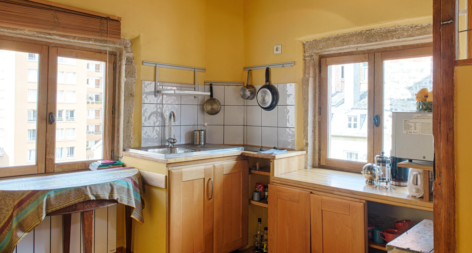 kitchen of the self-catering apartment