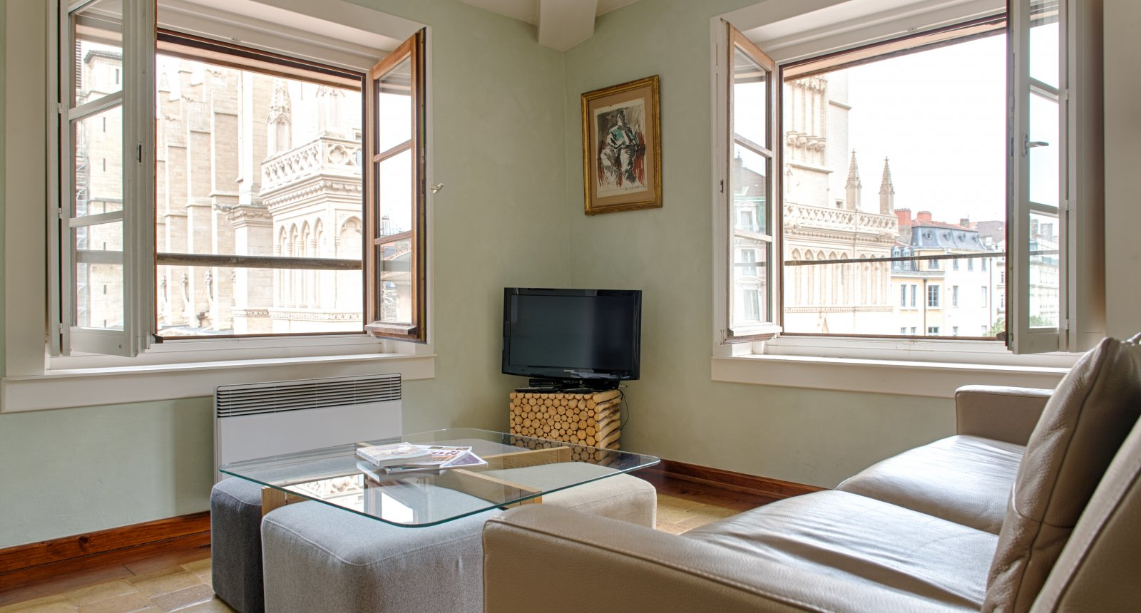 salon de l'appartement meublé de tourisme