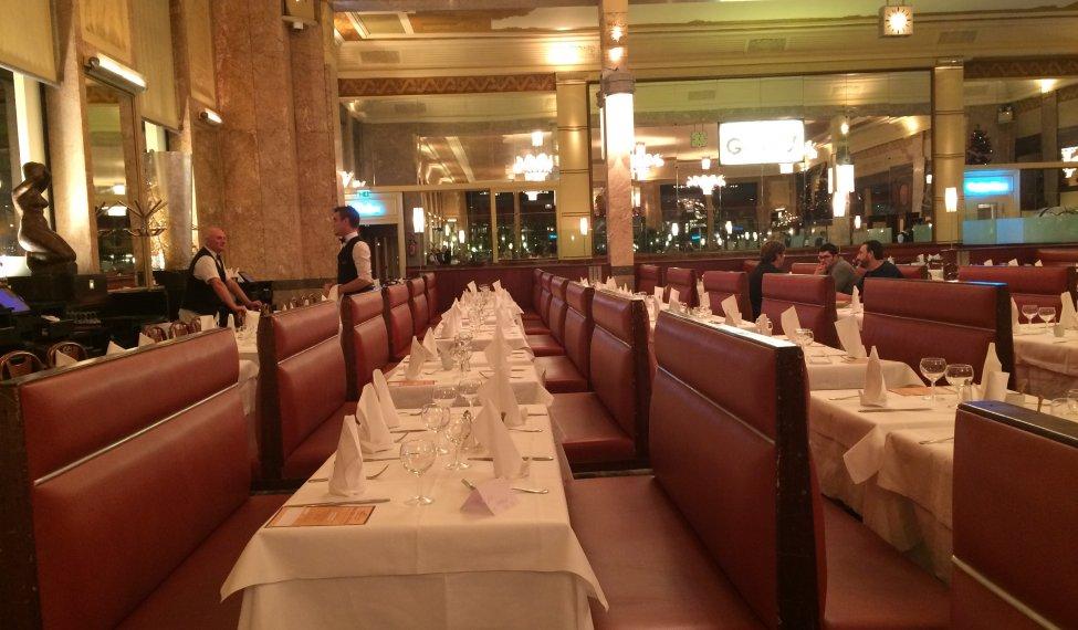 La Brasserie Georges à Lyon