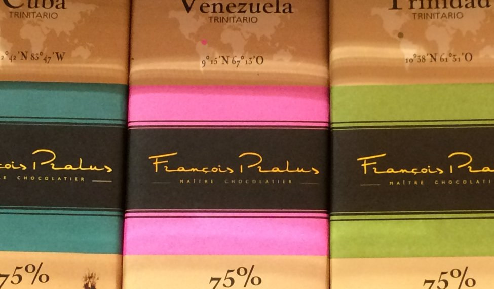 Des chocolats forts en cacao