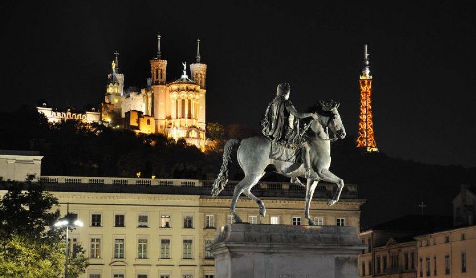 Visite nocturne de Lyon
