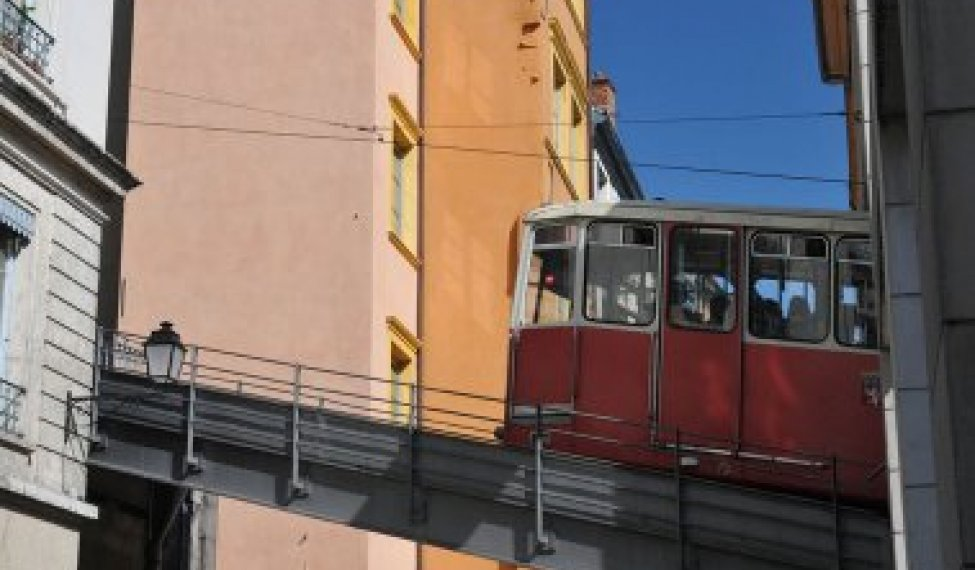 Lyon's public transport network