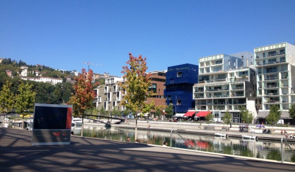 The Confluence District : an area to visit