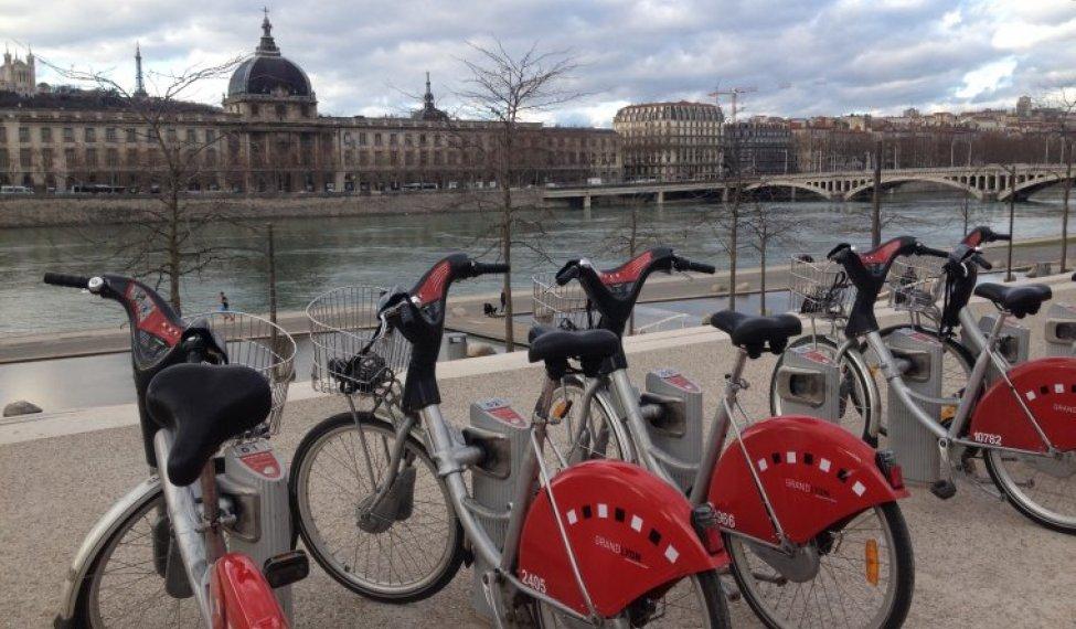 Visiter Lyon en Vélo'V