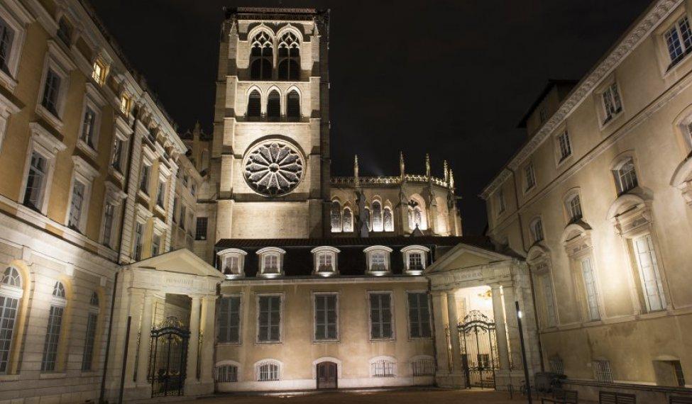 La cathédrale Saint Jean dans le Vieux-Lyon