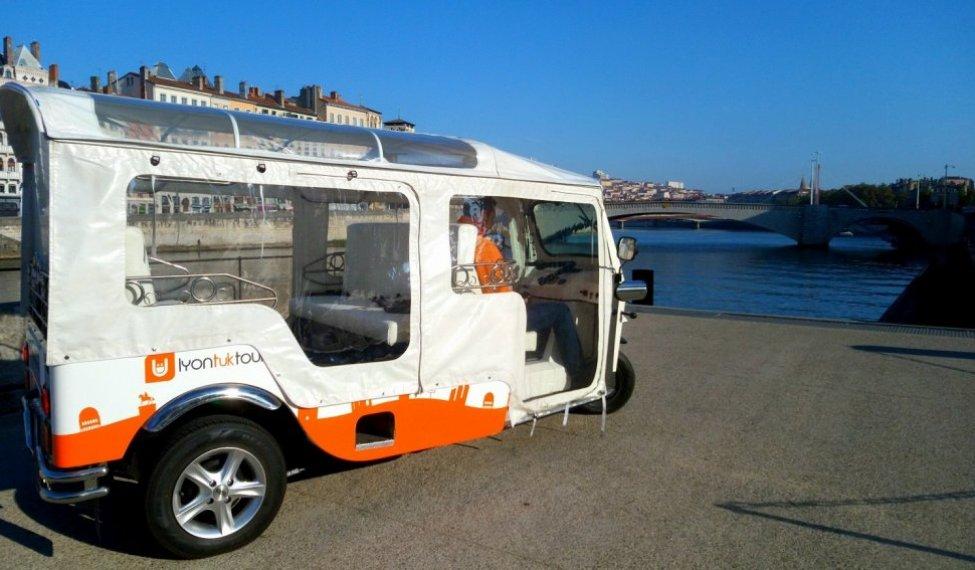 Tuktuk Lyon
